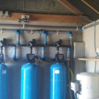 Water Treatment for iron removal