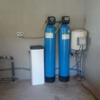 Iron removal filter unit