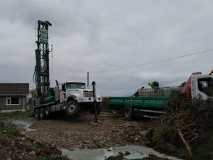 Water Well Drilling Procedure Rig On Site