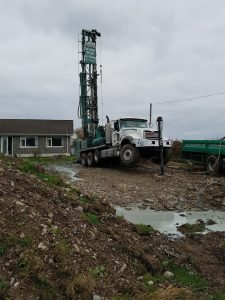 Water Well Drilling Procedure Non Level Ground